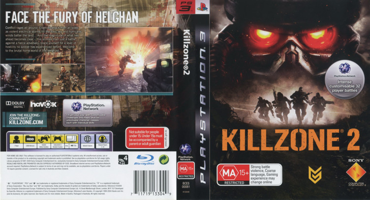 Killzone 2 Array coverfullM (BCES00081)
