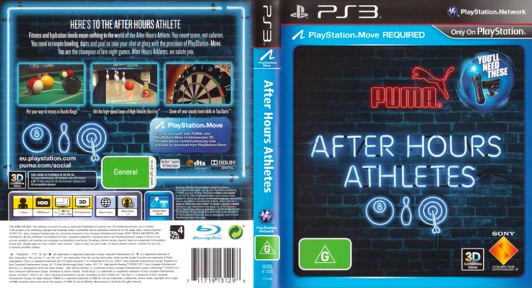 After Hours Athletes PS3 coverfullM (BCES01335)