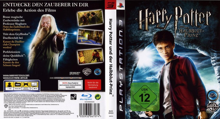Harry Potter und der Halfbblut-Prinz PS3 coverfullM (BLES00424)