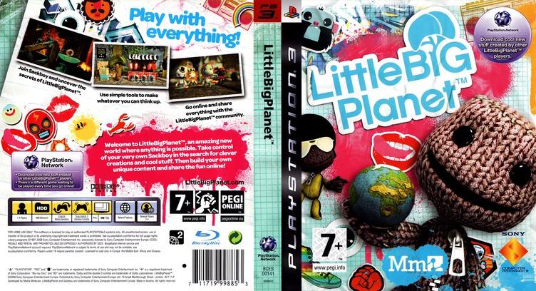 LittleBigPlanet Array coverfullM (BCES00141)