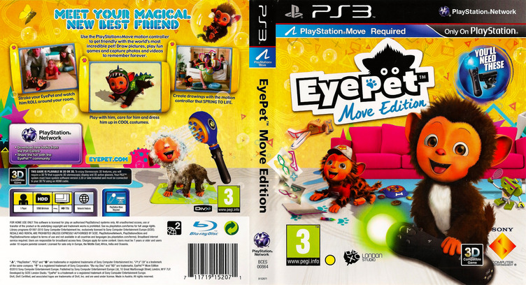 EyePet Move Edition PS3 coverfullM (BCES00864)