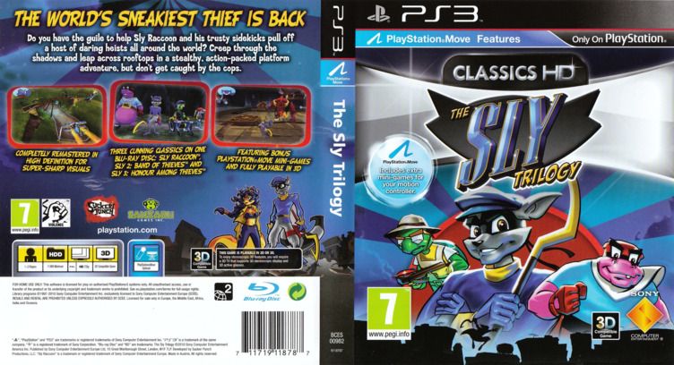 The Sly Trilogy PS3 coverfullM (BCES00982)