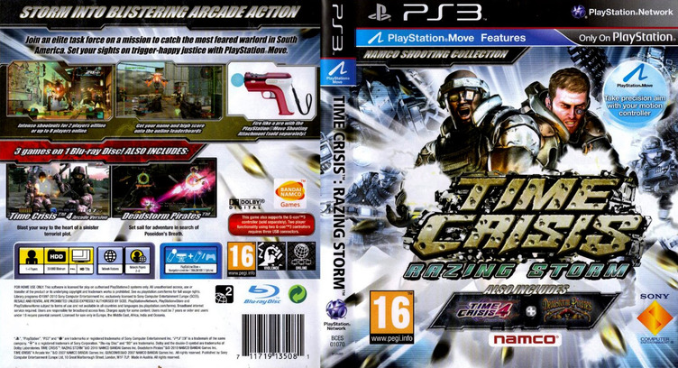 Time Crisis: Razing Storm PS3 coverfullM (BCES01070)