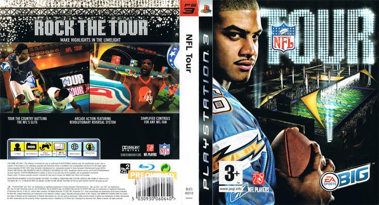 NFL Tour PS3 coverfullM (BLES00218)