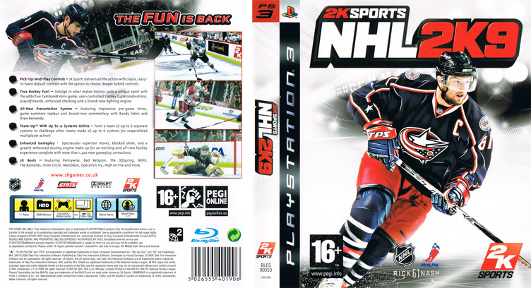 NHL 2K9 PS3 coverfullM (BLES00353)