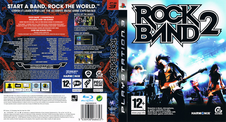 Rock Band 2 PS3 coverfullM (BLES00385)