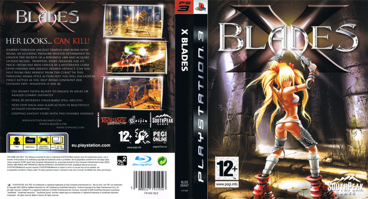 X-Blades PS3 coverfullM (BLES00447)