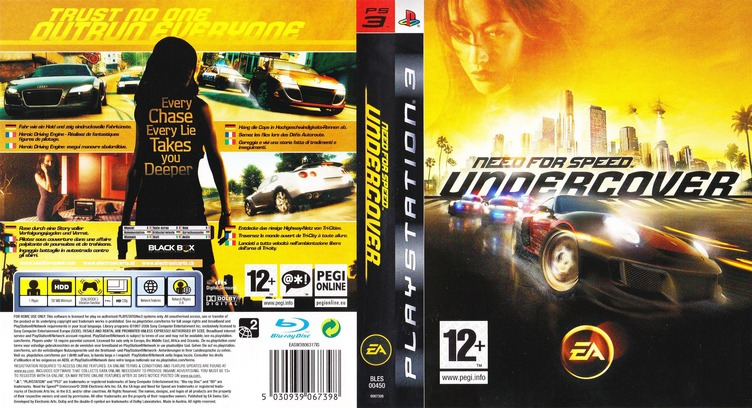 Need for Speed: Undercover PS3 coverfullM (BLES00450)