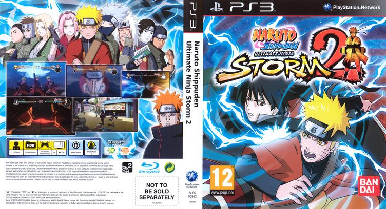 Naruto: Ninja Storm 2 PS3 coverfullM (BLES00952)