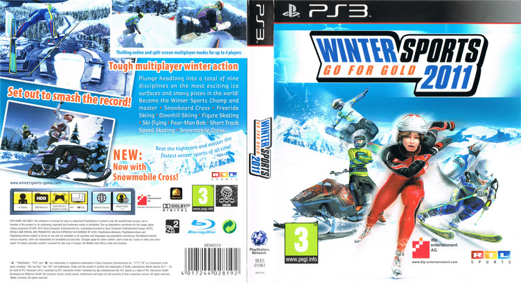 Winter Sports 2011: Go for Gold PS3 coverfullM (BLES01061)