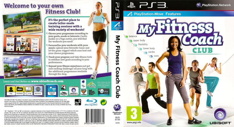 My Fitness Coach - Club PS3 coverfullM (BLES01191)