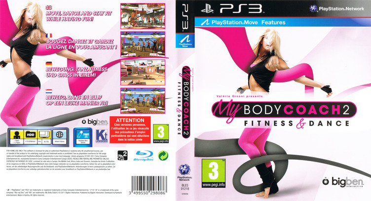 My Body Coach 2 PS3 coverfullM (BLES01218)