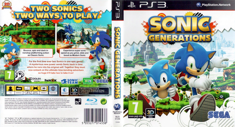 Sonic Generations PS3 coverfullM (BLES01236)