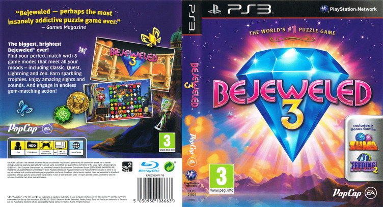 Bejeweled 3 PS3 coverfullM (BLES01601)