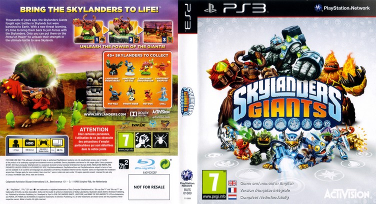 Skylanders Giants PS3 coverfullM (BLES01689)
