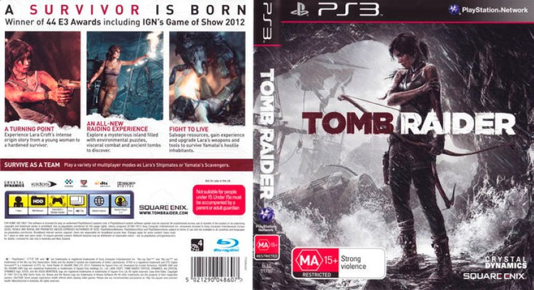 Tomb Raider PS3 coverfullM (BLES01780)