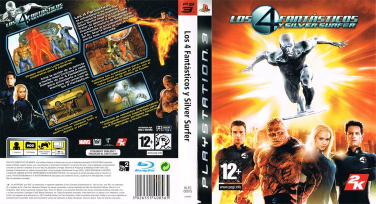 Los 4 Fantásticos y Silver Surfer PS3 coverfullM (BLES00075)