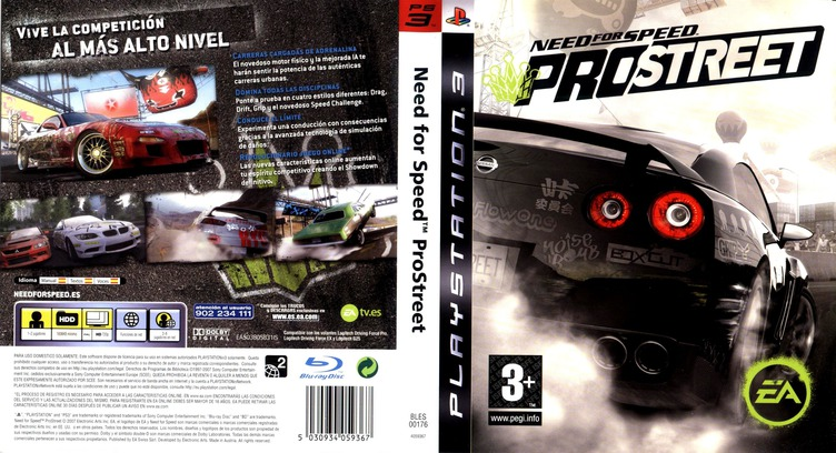 BLES00176 - Need for Speed: ProStreet