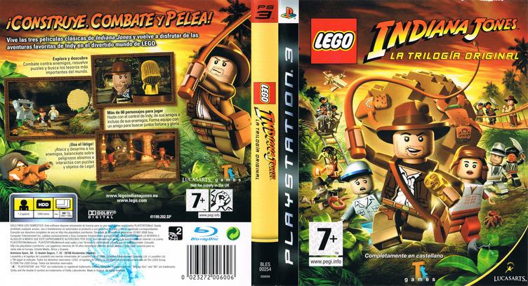 LEGO Indiana Jones: La Trilogía Original Array coverfullM (BLES00254)