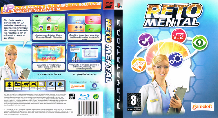 Reto Mental PS3 coverfullM (BLES00420)