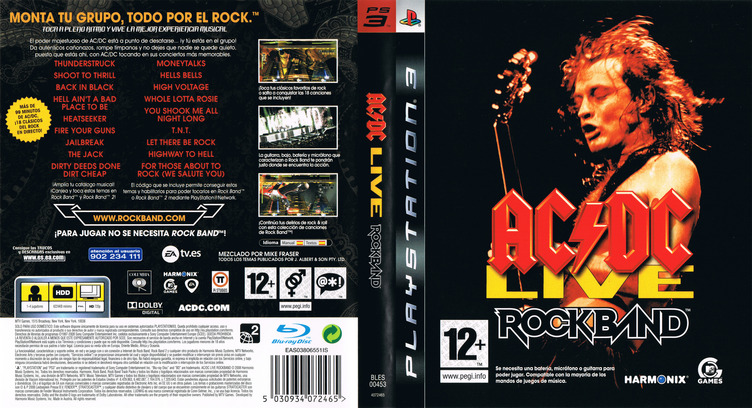 AC/DC Live: Rock Band PS3 coverfullM (BLES00453)
