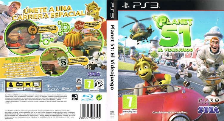 Planet 51 PS3 coverfullM (BLES00584)