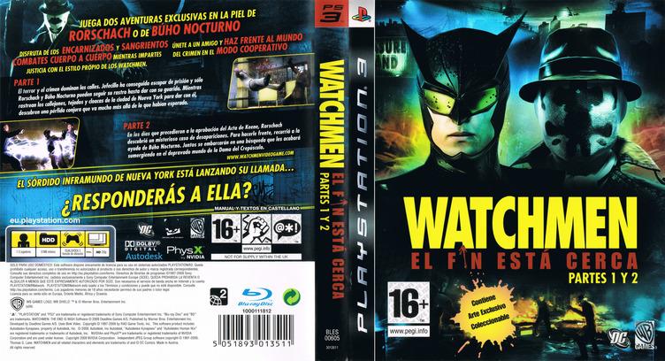 Watchmen: El Fin Está Cerca - Partes 1 y 2 Array coverfullM (BLES00605)