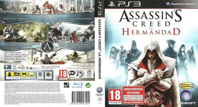 Assassin's Creed: La Hermandad PS3 coverfullM (BLES00909)