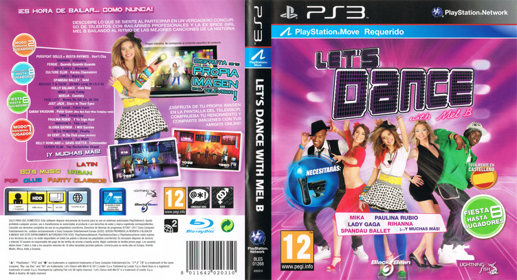 Let's Dance with Mel B PS3 coverfullM (BLES01268)