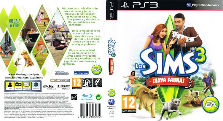Los Sims 3: ¡Vaya Fauna! PS3 coverfullM (BLES01368)
