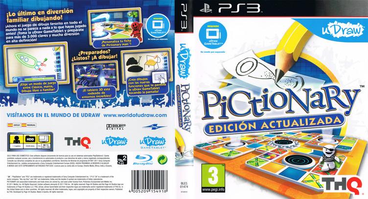 Pictionary: Edición Actualizada PS3 coverfullM (BLES01474)