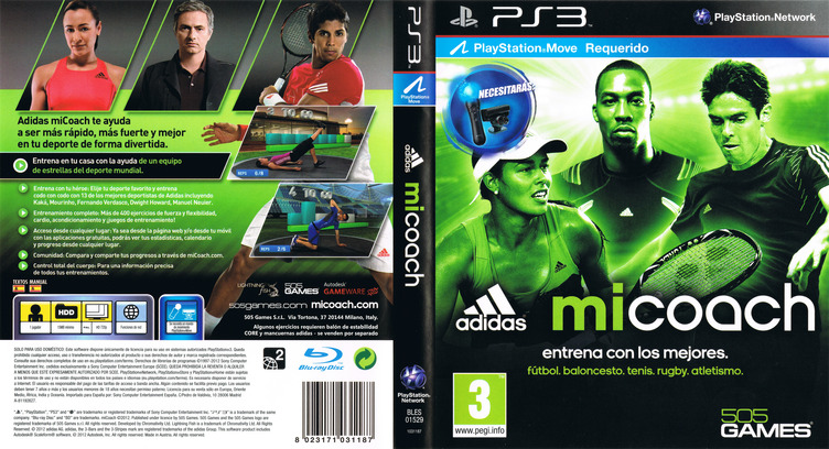 Adidas miCoach PS3 coverfullM (BLES01529)