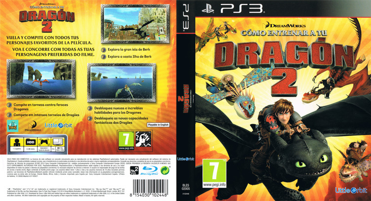 Cómo entrenar a tu Dragón 2 PS3 coverfullM (BLES02005)