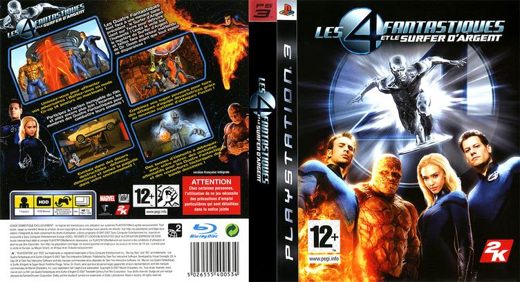 Les 4 Fantastiques et le Surfer d'Argent PS3 coverfullM (BLES00075)