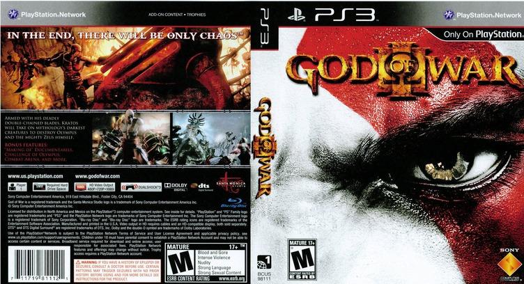 God of War III PS3 coverfullM (BCUS98111)