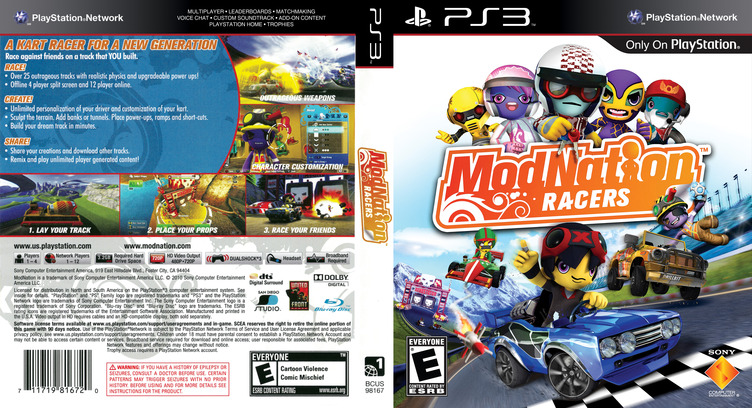 ModNation Racers PS3 coverfullM (BCUS98167)