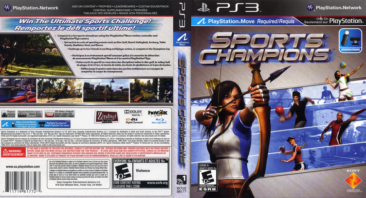 Sports Champions PS3 coverfullM (BCUS98177)