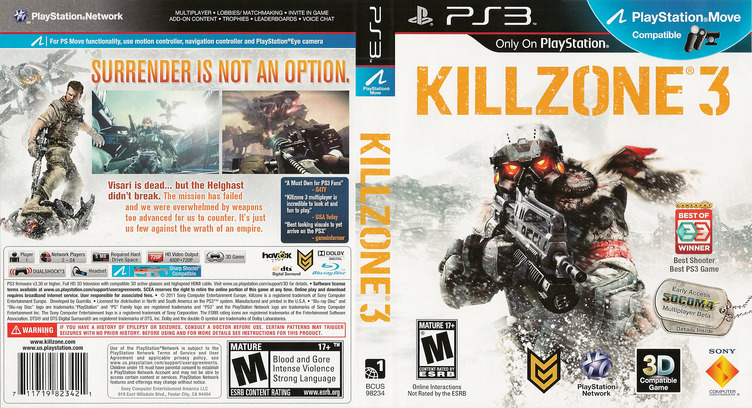 Killzone 3 PS3 coverfullM (BCUS98234)
