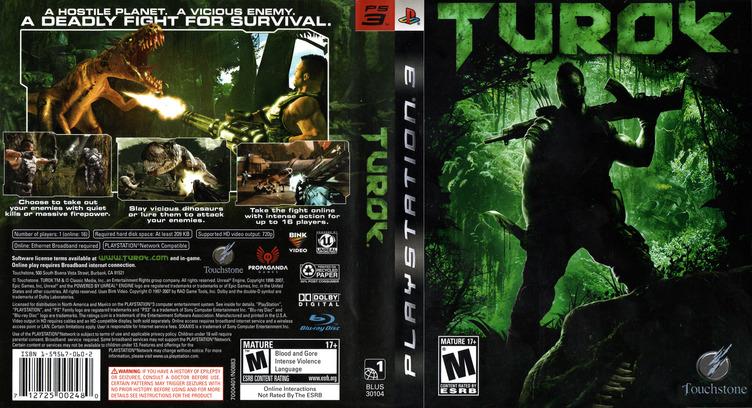 Turok PS3 coverfullM (BLUS30104)