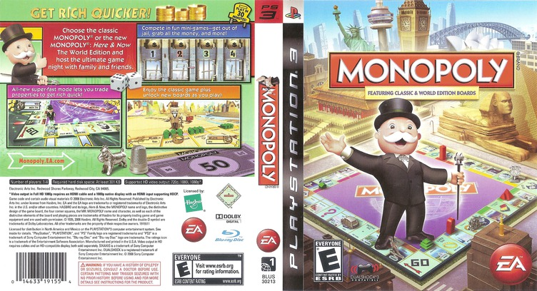 Monopoly PS3 coverfullM (BLUS30213)