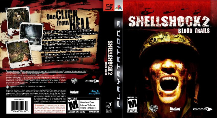 Shellshock 2: Blood Trails PS3 coverfullM (BLUS30225)