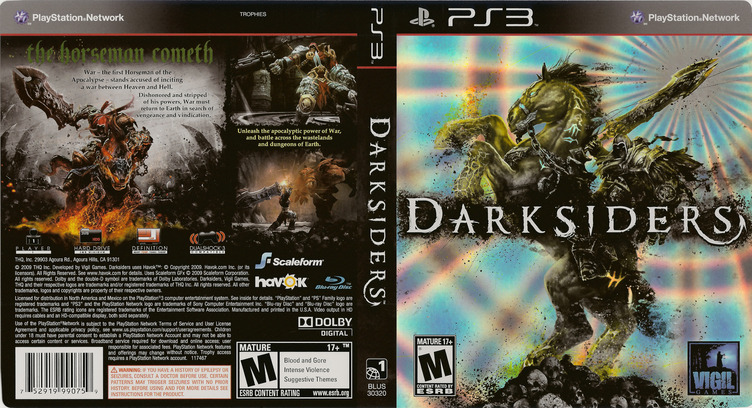 Darksiders PS3 coverfullM (BLUS30320)