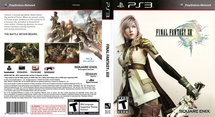 Final Fantasy XIII PS3 coverfullM (BLUS30416)