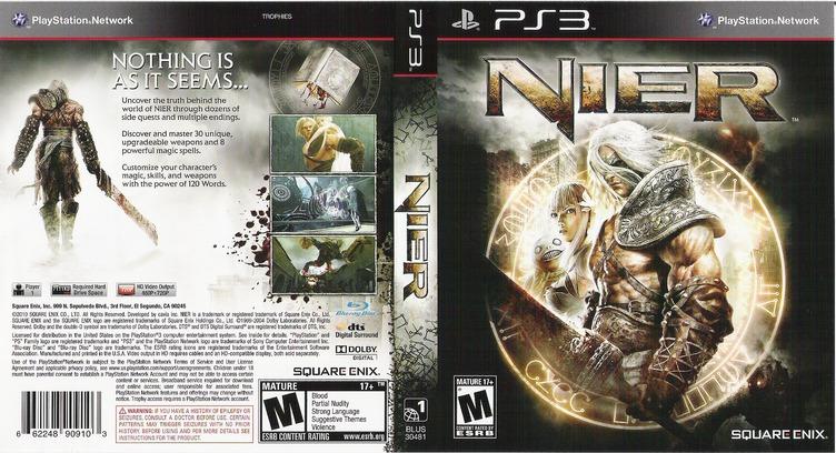 Nier PS3 coverfullM (BLUS30481)
