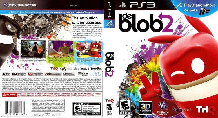 de Blob 2 PS3 coverfullM (BLUS30559)