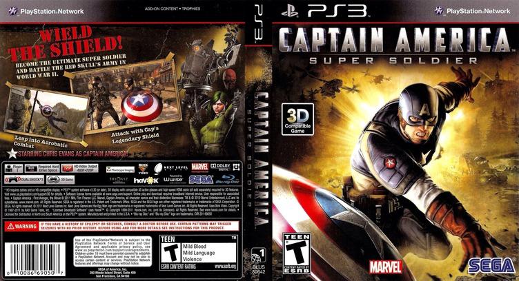 Captain America:Super Soldier PS3 coverfullM (BLUS30642)
