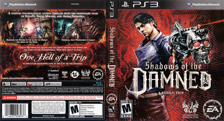 Shadows of the Damned PS3 coverfullM (BLUS30653)