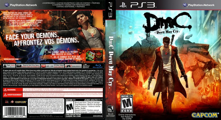 DmC: Devil May Cry PS3 coverfullM (BLUS30723)
