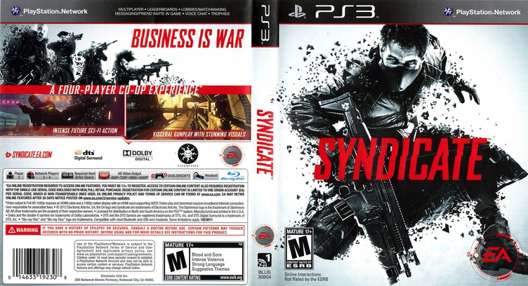 Syndicate PS3 coverfullM (BLUS30804)