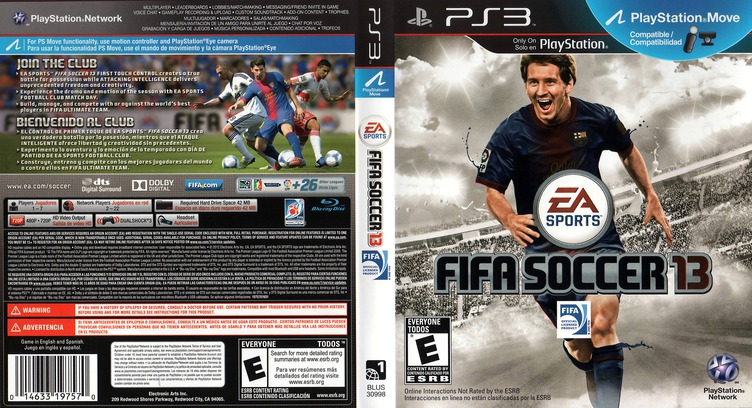 FIFA Soccer 13 PS3 coverfullM (BLUS30998)